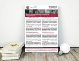 nº 53 pour Design a Flyer to be used by a financial and commercial real estate company par mdhedayetullah