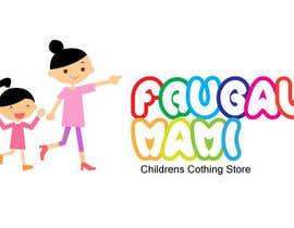 nº 23 pour Logo design for childrens clothing store par Alluvion