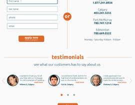 rashinp tarafından Design a Website Mockup for Mortgage Broker: High End Design Required.  Home Page & Inner Page Design için no 13