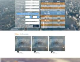 faizalmohamed88 tarafından Design a Website Mockup for Mortgage Broker: High End Design Required.  Home Page & Inner Page Design için no 50
