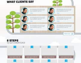 noninoey tarafından Design a Website Mockup for Mortgage Broker: High End Design Required.  Home Page & Inner Page Design için no 30