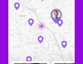 #14 for App design - Chat & Geolocation  Contest by JulioEdi
