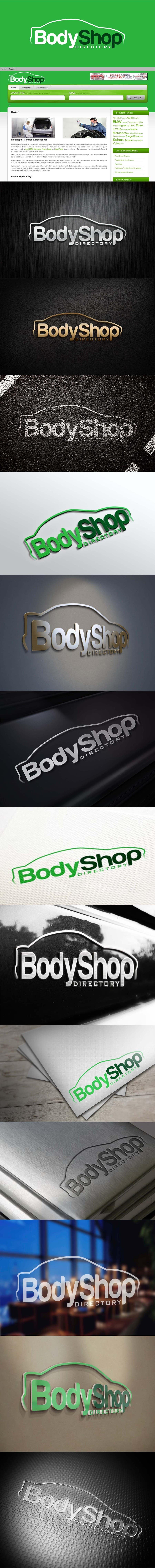#38 for Logo Design for BodyShop Directory by trying2w
