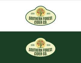 #240 cho Southern Forest Cider Co. Logo bởi denputs08