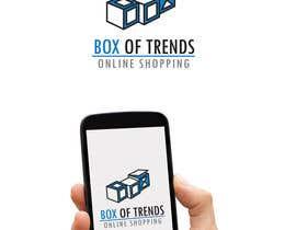 "#203 untuk Logo for ecom store ""Box of trends"" oleh wpurple"