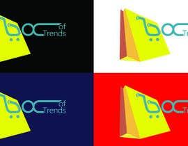 "#207 untuk Logo for ecom store ""Box of trends"" oleh shamulpilas"