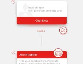 #80 for Web chat widget preview message design by willyarisky