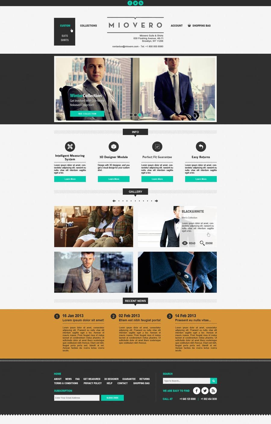 #55 for HOMEPAGE DESIGN FOR MIOVERO - and future work, read descriptions. by halfadrenalin
