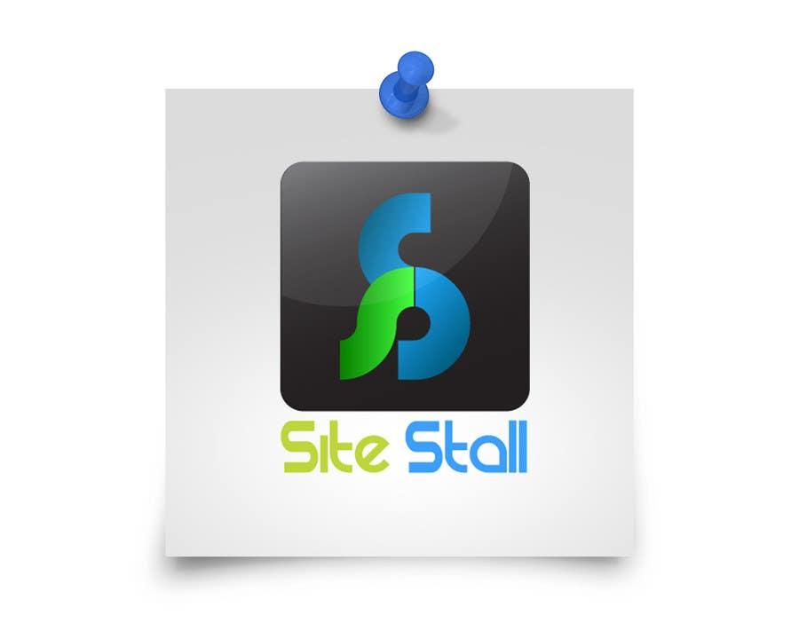 Konkurrenceindlæg #71 for Logo Design for SiteStall - Web Hosting Business