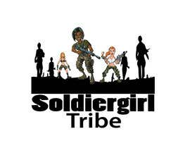 #43 for Logo for Facebook group page-Soldiergirl Tribe af showaib7