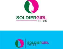 #53 for Logo for Facebook group page-Soldiergirl Tribe af Design4cmyk