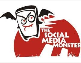 nº 21 pour Graphic Design for The Social Media Monster par dyv