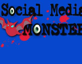 nº 47 pour Graphic Design for The Social Media Monster par kalderon