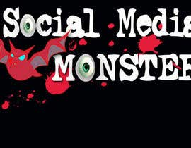 nº 48 pour Graphic Design for The Social Media Monster par kalderon