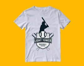 "nº 10 pour I need a logo designed for my baseball training. ""Light tower baseball training"" want a logo of a guy swinging a light pole that i can put on T shirts and hats. Perferred color scheme is neon yellow and grey. Open to characature design par mahinul000"
