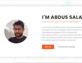 #21 for A website for personal portfolio by kmasalam