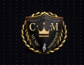 #3 for This logo in 3d in gold and black with a golden crown on top. All written on sample legible and necessary. by AsmMitul