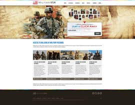 #40 para Website Design for MilitaryUSA.com por creator9