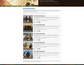 nº 42 pour Website Design for MilitaryUSA.com par creator9