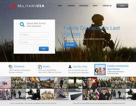 nº 39 pour Website Design for MilitaryUSA.com par Bkreative