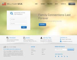 nº 33 pour Website Design for MilitaryUSA.com par Bkreative