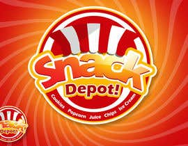 nº 20 pour Logo Design for Snack Centre par rogeliobello