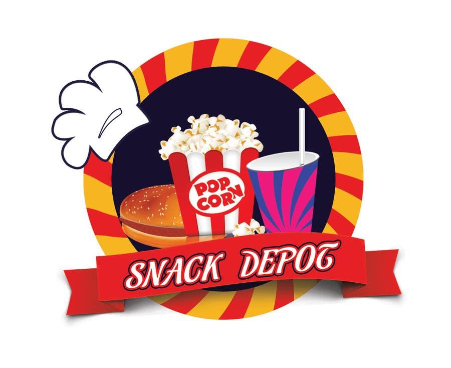 Bài tham dự cuộc thi #                                        34                                      cho                                         Logo Design for Snack Centre