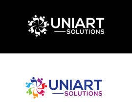 #429 for Design a Logo for UniArt Solutions by Afrin6500