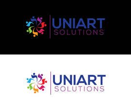 #430 for Design a Logo for UniArt Solutions by Afrin6500