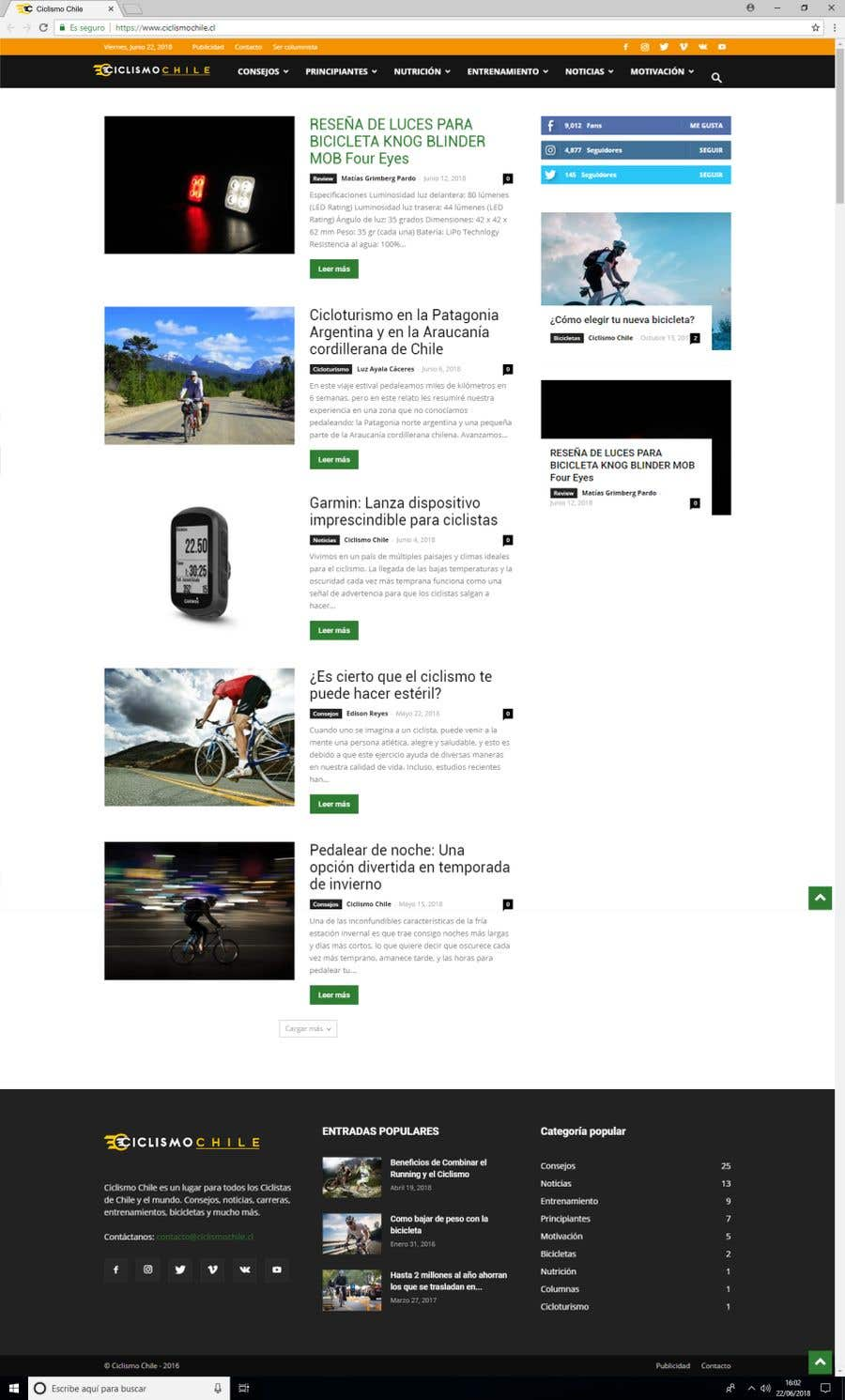 Participación en el concurso Nro.142 para Diseñar un logotipo para un sitio web de ciclismo