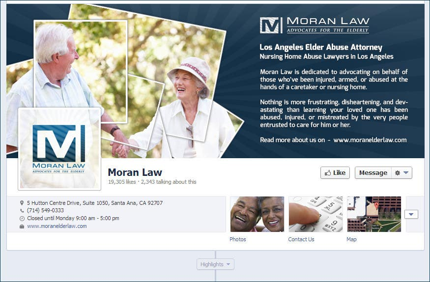 #16 for Facebook Cover Photo Design for Moran Law by softechnos5