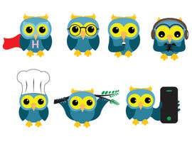 #85 for Simple Owl Logo Designs af monowar901