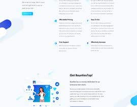 #34 para One page web design for tanya de minhajulfaruquee