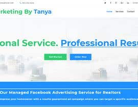 #28 para One page web design for tanya de AdityaV9