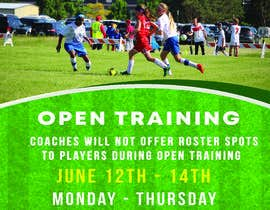 #8 for URGENT Design a Flyer Advertising Open Training for our Club -- 2 by arijitnandi226