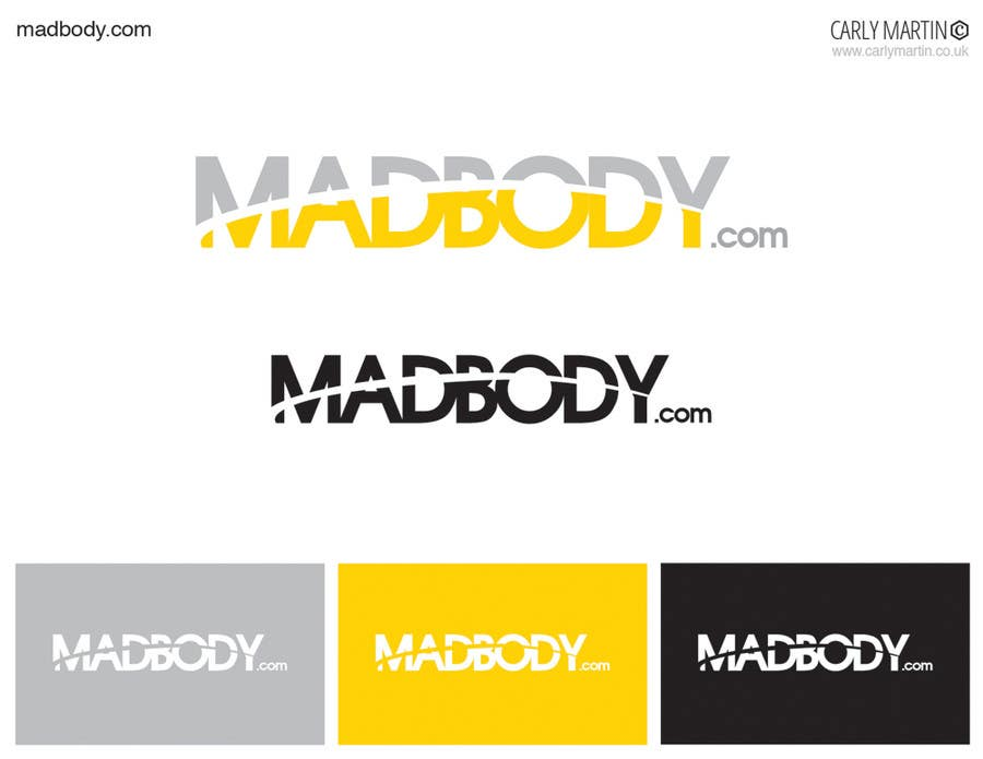 Kilpailutyö #159 kilpailussa Logo Design for madbody.com