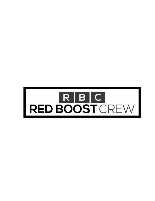 Participación en el concurso Nro.16 para Design a Logo for Red Boost Crew