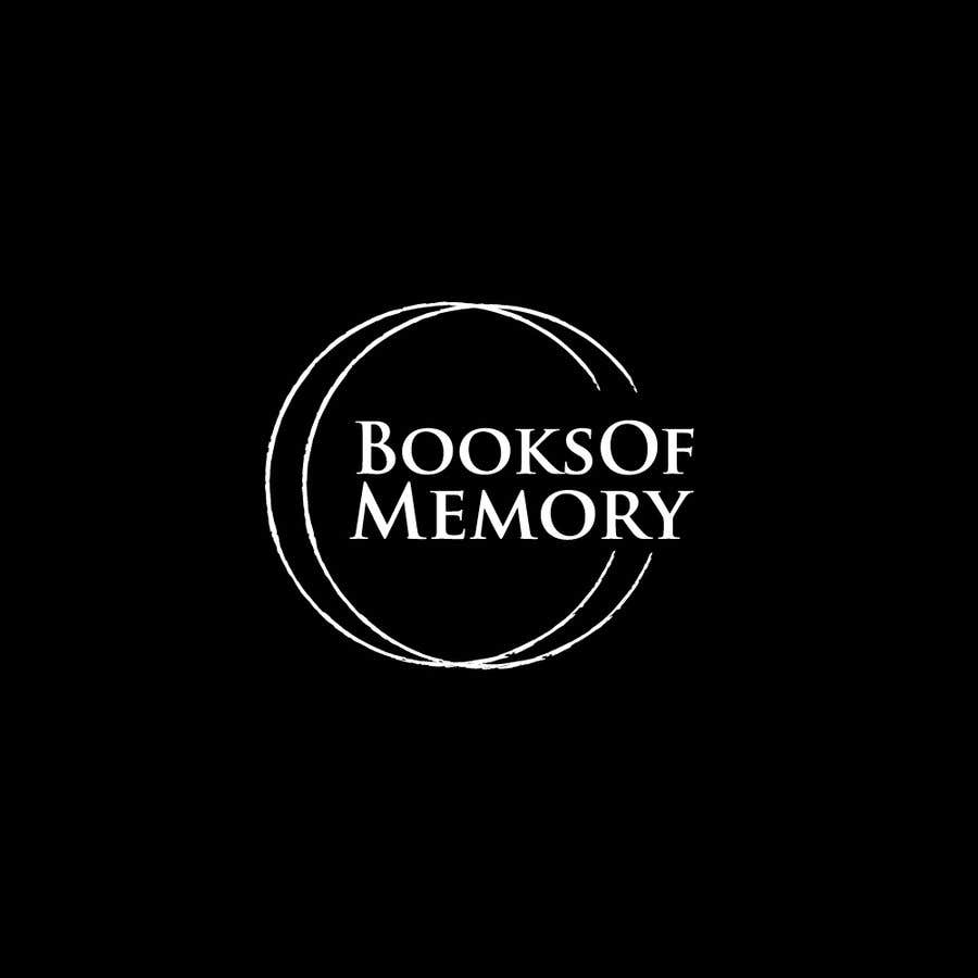 Penyertaan Peraduan #124 untuk BooksOfMemory Logo