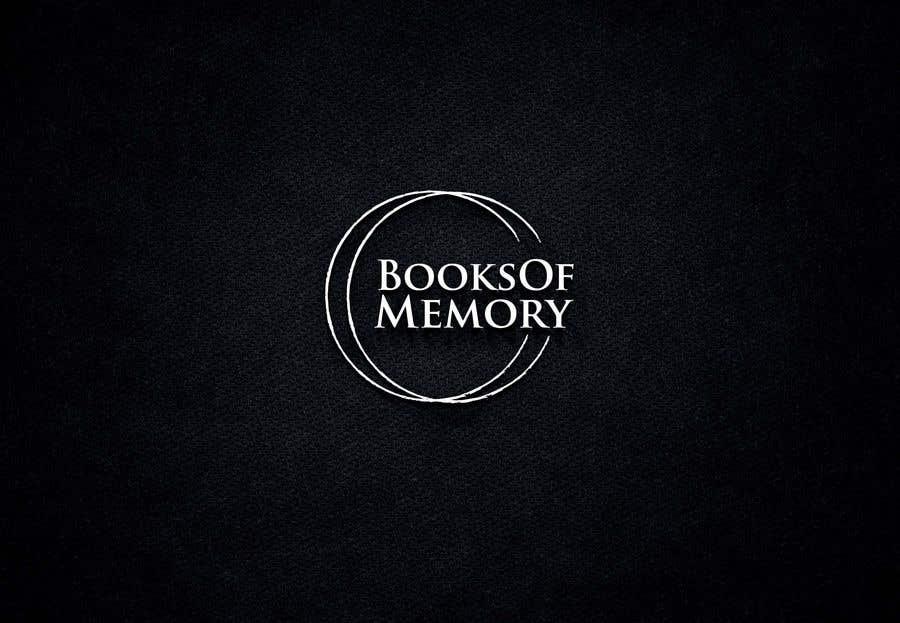 Penyertaan Peraduan #127 untuk BooksOfMemory Logo