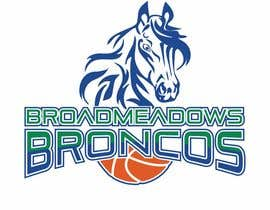 #46 for We like the Timberwolves & Dallas Wings logos & are looking for a graphical logo. Must include a bronco & a basketball (or half ball) in the logo. Logo needs to be high res & able to be used on signage & uniforms  (www.broadmeadowsbasketball.com.au) by SunSquare10