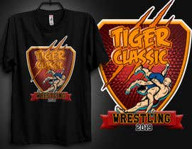 #48 para Wrestling Tournament TShirt Design project de raymand05