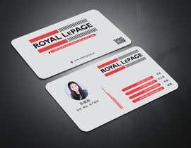 #34 untuk Business card design for a real estate agent oleh canik79