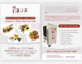 nº 34 pour Flyer Design for Bon a Manger par pris