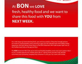 nº 17 pour Flyer Design for Bon a Manger par ezesol