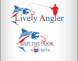 #59 для Logo Design for The Lively Angler or Bait the Hook Buckets  or an original new Brand Name) от suvra4ever
