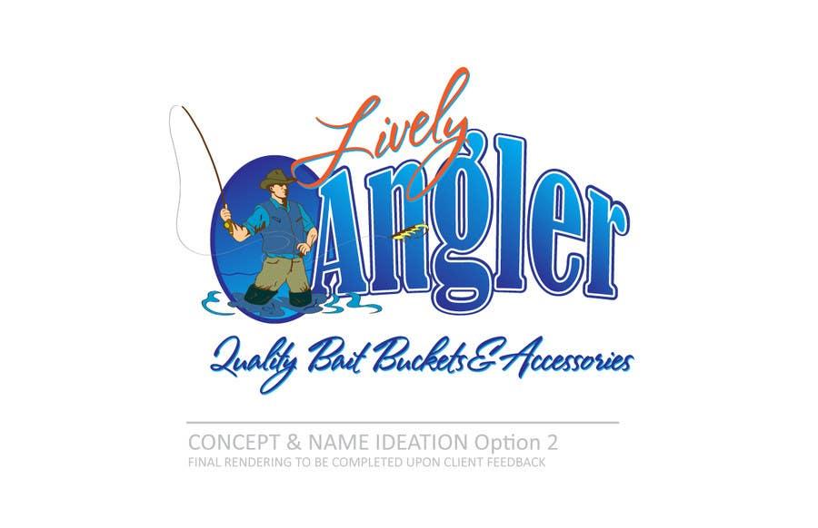 Kilpailutyö #                                        37                                      kilpailussa                                         Logo Design for The Lively Angler or Bait the Hook Buckets  or an original new Brand Name)