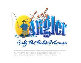 #66 para Logo Design for The Lively Angler or Bait the Hook Buckets  or an original new Brand Name) por LRMStudio1
