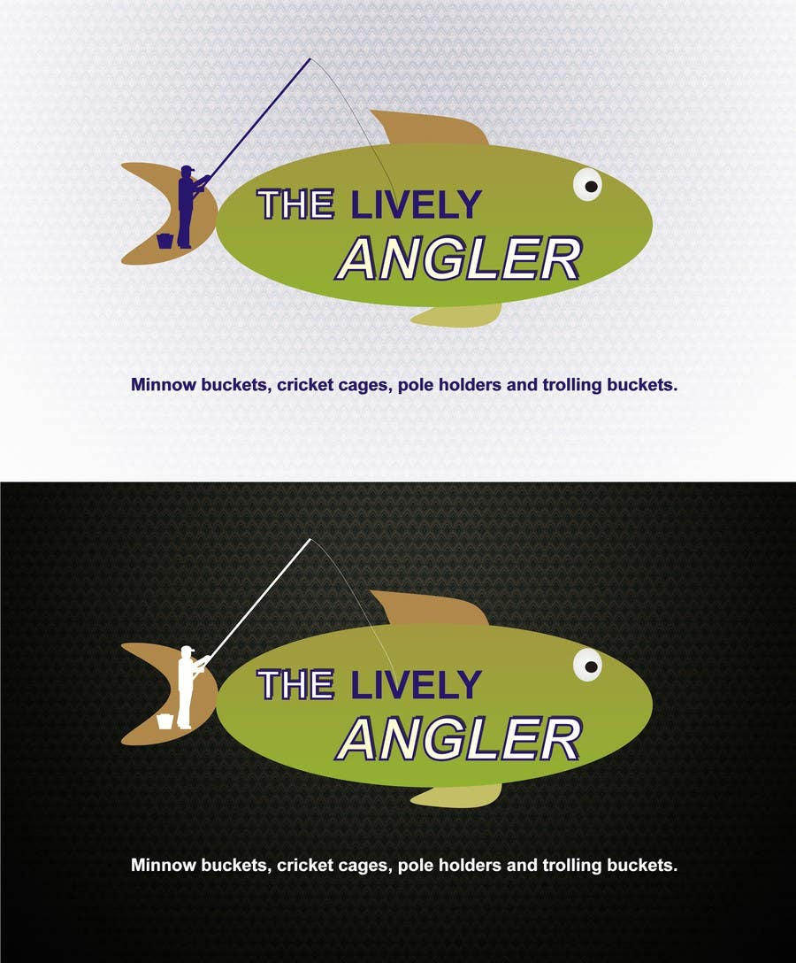 Konkurrenceindlæg #                                        67                                      for                                         Logo Design for The Lively Angler or Bait the Hook Buckets  or an original new Brand Name)