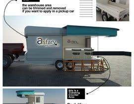 #27 untuk Mobile/Removable Ticketing Counter mounted on a Truck oleh rizkyprks