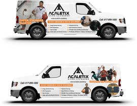 #75 for Design a Car Wrap for a Nissan NV 3500 by ravi05july